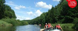 Rafting in Kolberg - Erkunden Sie die örtlichen Flüsse!