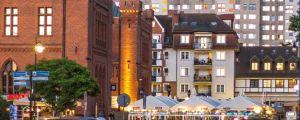 Die Altstadt und Zentrum von Kolberg