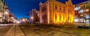 Das Rathaus in Kolberg