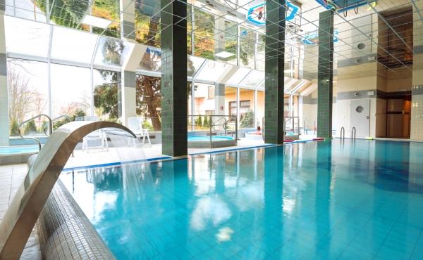 Schwimmbad reduziert