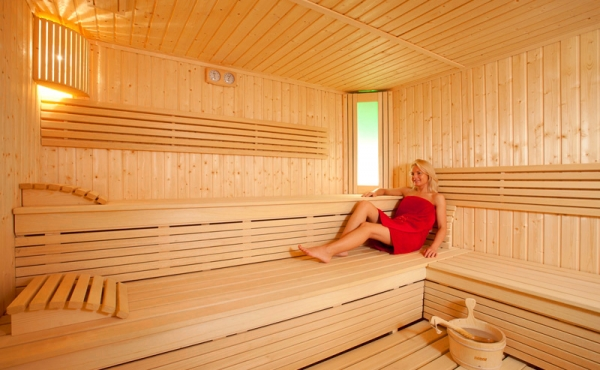 Sauna trocken